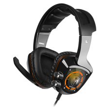 F18575/76 Somic G910 USB 7.1 Surround Sound Gaming Headset with Mic LED Backlight Vibration Intelligent Over-ear Headphone