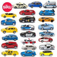 SIKU Diecast Metal Cars Toys, Alloy Toy Car Models, Collectible Cars Skin Train Helicopter Tractor Model Truck Toys For Children