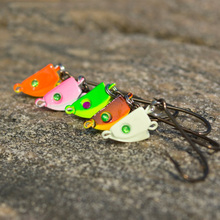 Jig Head Lead Spin Head Hooks 2pcs/lot 7g 10g 14g  Lure Hook Multicolor Fishing Tackle Fishing Hooks