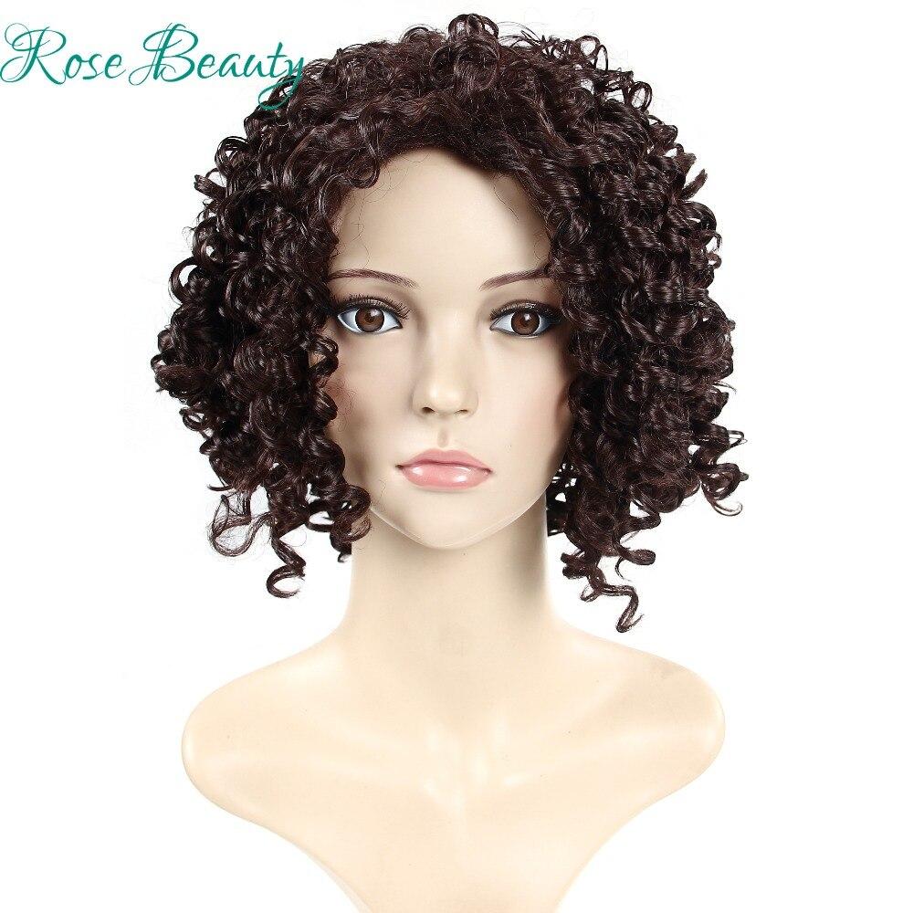 Newest Medium Long Fashion afro kinky curly wigs synthetic pelucas sinteticas pelucas wigs for black women<br><br>Aliexpress