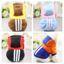 Buy Warm Dog Clothes Puppy Hoodies Dog Coat Clothes Small Dogs Large Pet Products Teddy Chihuahua Clothing Dog Supply 9Z35D for $2.94 in AliExpress store