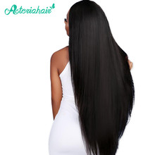 Asteria hair Human Hair Bundles Brazilian Straight hair Weave 1 Piece 10-30 inches Natural Black Non-Remy hair Free shipping