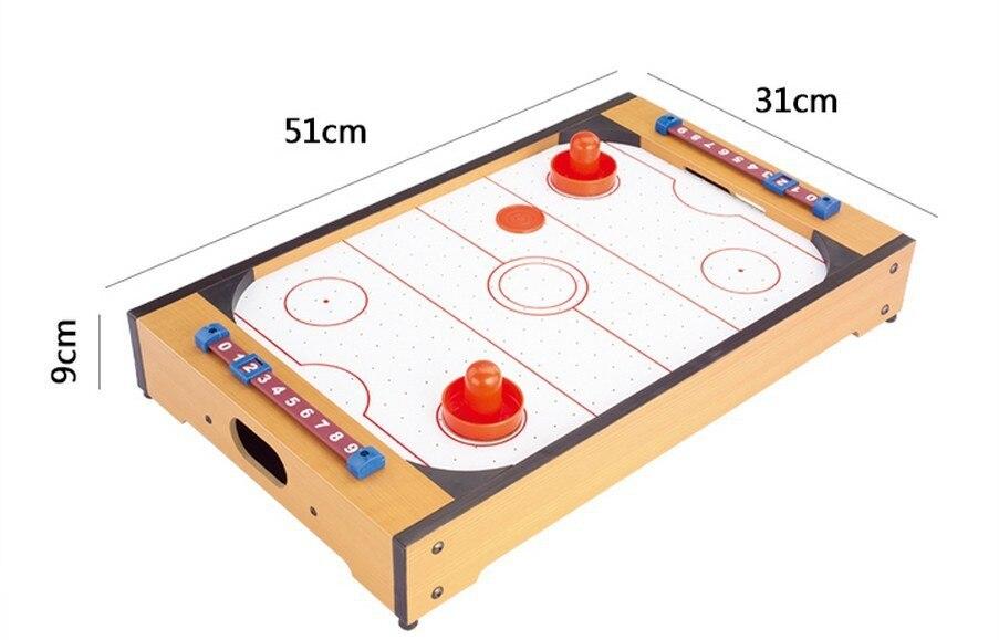 MDF Children Hockey table Indoor Ice hockey Air sports<br><br>Aliexpress