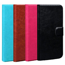 Buy New Styles PU Leather Cover Flip Case Homtom HT27 Original Cell Phone Holster (Gift HD Film + Touch Pen + Tracking) for $4.98 in AliExpress store
