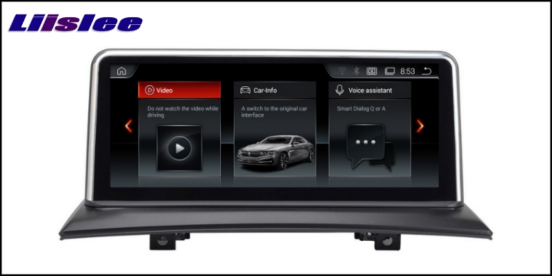 For BMW X3 E83 2003~2010 LiisLee Car Multimedia GPS Audio Hi-Fi Radio Stereo Original Style Navigation NAVI 44