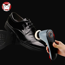 Household appliances automatic Shoe shine machine leather shoes Waxing polisher Household Handheld electric Brush shoes(China)