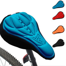 Buy 3D Soft Bike Bicycle Saddle Seat MTB Parts Mountain Cycling Silicone Mat Comfortable Cushion Cover Saddle Bicycle Bike for $1.72 in AliExpress store