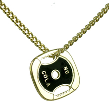 Weight Plate Pendant Women Stainless Steel Chain Fitness Power Necklace Bodybuilding Sports Hip Hop Vintage Rock Gothic Jewelry