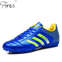 Professional Outdoor Football Boots Athletic Training Soccer Shoes Men Women Long Turf Rubber Sole Shoes Zapatos De Futbol