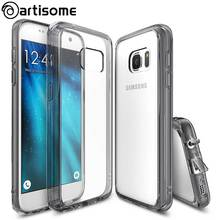 Shock-resistant Case For Samsung S7 S7 Edge Cover Crystal Silicone TPU Phone Cover For Samsung Galaxy S7 S7 Edge Case ARTISOME