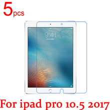 "5pcs Ultra Clear Glossy/Matte/Nano anti-Explosion LCD Tablet Screen Protector Film For ipad pro 10.5"" 2017 new Protective Film(China)"