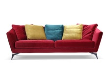 Promotion  Modern furniture / living room  sectional sofa with stainsteel legs MCNO0633