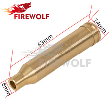 FIRE WOLF Red Laser 7mm REM MAG Boresighter Copper/Brass For Lazer Light Scope Hunting(China)