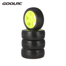 Buy 4pcs 112mm Rubber Tires 17mm Hub Hex Wheel Rim 1/8 RC Crawler Buggy Off-Road Car Truck for $12.20 in AliExpress store