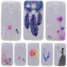 Soft TPU Patterns Case For Capa LG Nexus 5X case For Fundas Google Nexus 5X H79 5.2 Skin Gel Soft Cover Cell Phone Case