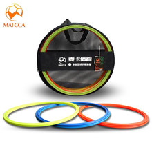 MAICCA 12PCS/ Lot 40cm football Speed Agility Rings Sensitive soccer Equipment Training Pace Lap Ball Training with bag