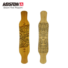 2017 Koston Professional Longboard Deck Illusion Dancing Board Walking 46 Inch Hybrid Material Structure Long Skateboard Decks(China)