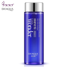 Bioaqua Blueberry miracle glow wonder Face Toner Makeup water Smooth Facial Toner Lotion oil control pore moisturizing skin care(China)