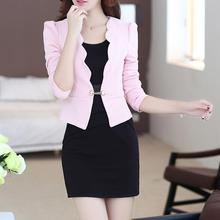 Buy Autumn Spring OL Women Dresses Suits Fashion Office Women Workwear Blazer Dress Suit Female for $18.13 in AliExpress store