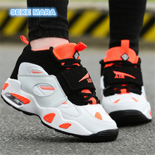 NEW 2017 Size 35-45 Lovers Running Shoes Women Sneakers Woman Sports Shoes Air cushion Brand Outdoor Trainers Jogging Wedge n