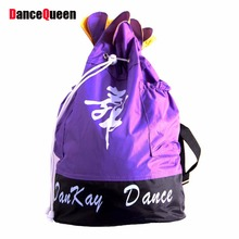 2017 new arrival Women Lady Girls Fashion Ballerina Dance Bag Ballet Bag 7 Colors Dance Costumes Accessories(China)