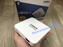 Unblock Ubox4 Android 5.1 TV Box UBOX4 UBOX3 pgraded IPTV Gen.4 Pro UBTV Smart TV Box HD 4K 16gb Network Media Player WiFi HTV