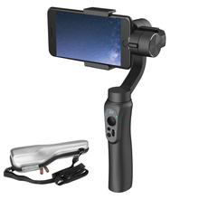 EU Stock Zhiyun Smooth Q 3-Axis Handheld Gimbal Portable Stabilizer for Smartphone Gopro 5 4 3 Vertical Shooting(China)