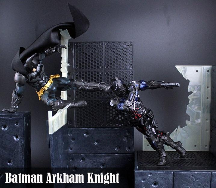Free Shipping DC Comics Batman Arkham Knight Batman ARTFX+STATUE 1/10 Scale Boxed PVC Action Figure Collection Model Doll Toy<br>
