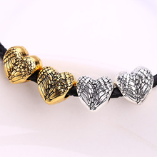 Buy Metal European Hearts Beads fit Pandora Charms DIY Vintage Beads Bracelets Charms Jewelry Making Craft 30pcs B5041 for $4.59 in AliExpress store