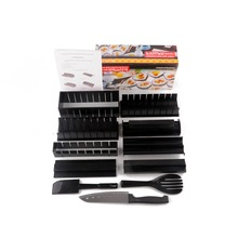 11PCS/Set Sushi Maker Roller Kit DIY Rice Mold Kitchen Sushi Making Tools Set Sushi Rolls Mould Japanese Rice Tool