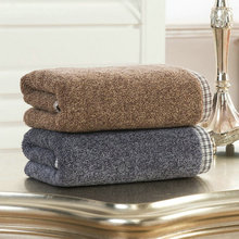 High quality Pure Cotton Fabric face towel hand dry cleaner soft towel 34x76cm 2PCS/LOT