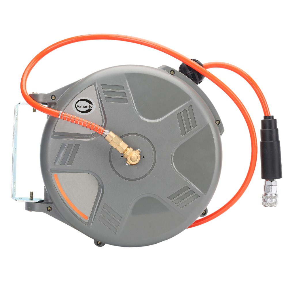 Cheap High Quality HD-610 33ft by 1/4-Inch I.D. Retractable Air Hose Reel Air Blower Industrial Blower Pneumatic Tools<br><br>Aliexpress