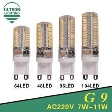 G9 Led Light Bulbs 220V 7W 9W 10W 11W Corn Bulb 360 degrees SMD3014 2835 Lamp High Quality Chandelier Light Replace Halogen Lamp