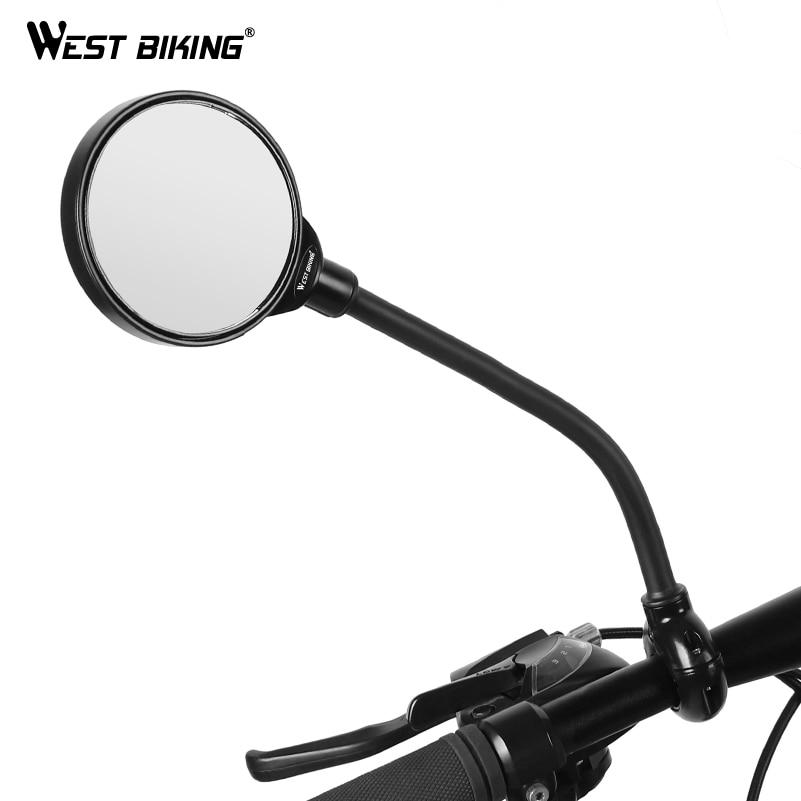 1pcs Cycling Bike Handlebar Rearview Mirror MTB Bicycle Back Rear View Mirror