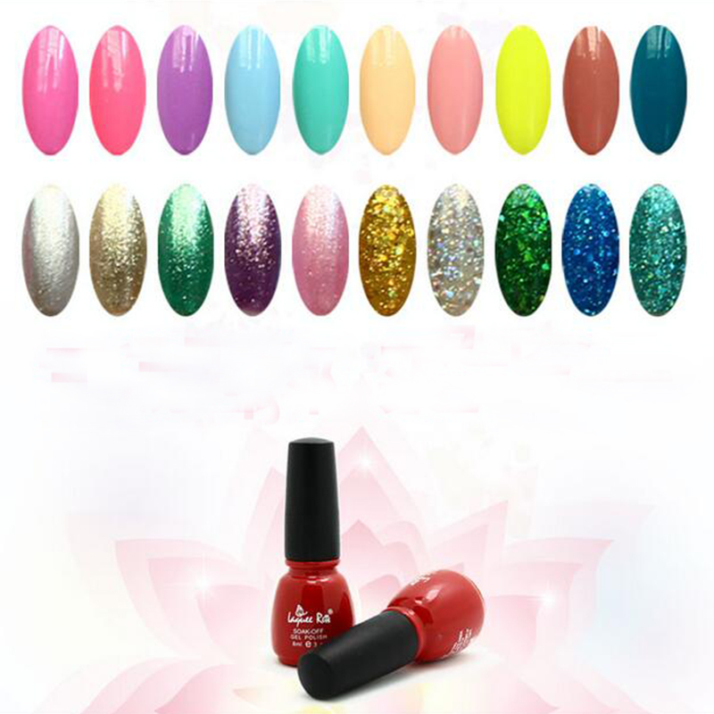 1 pcs gel polish various of colorful gel polish Soak Off Nail Gel Polish Long Lasting Led GelPolish free ship(China (Mainland))