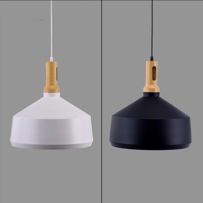 Free Shipping Modern Nordic Style Experimental Bottle Pendant Light Lamp Wood Ceiling Fixtures Black/White Hanging Lighting<br><br>Aliexpress