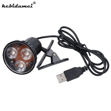new USB Port 3 LED Clip Light On Spot Lamp Flexible Bright For Laptop PC Notebook Computer Keyboard light