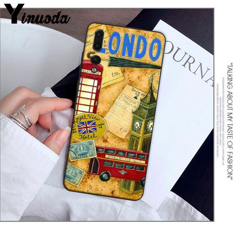 style london bus england telephone vintage british