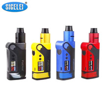 Buy Original Sigelei Fuchai Vcigo K2 Kit Electronic Cigarette Kit Box Mod Kit 175w Mod Zinc alloy Vape Box Mod Kit for $43.48 in AliExpress store