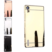 Buy Lenovo Vibe Shot Z90 Case Plating Metal Frame Mirror Back Cover Hard Case Lenovo Vibe Shot Z90 Z90-3 Z90-7 Shell Cover for $4.49 in AliExpress store