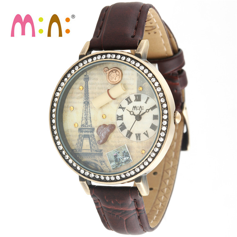 Luxury Brand Women Watches Fashion Waterproof 3D Book Bracelet Ladies Quartz Wrist Watch Clock Woman saat 2017 Relogio Feminino<br>