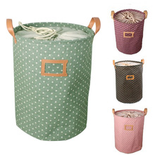 New Lovely Barrel Shaped Signature Cotton High Capacity Drawstring Bags Makeup Organizer Storage Bag      J2Y