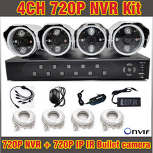 High Quality NVR 4CH 720P H.264 Full HD CCTV NVR System Video Surveilance Security CCTV 4 Channel for IP Camera Onvif PTZ(China)
