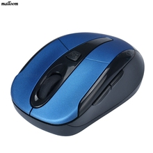 2017 Optical Mouse Mini Mouse Portable 2.4G Wireless Optical Mouse Mice For Computer PC Laptop Gamer #719(China)