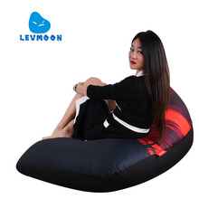 LEVMOON Beanbag Sofa Chair Shell Revenge Seat Zac Comfort Bean Bag Bed Cover Without Filler Cotton Indoor Beanbag Lounge Chair(China)