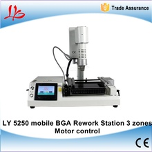 Russia free tax Electrical motor control up down 3 zones Mobile phone motherboard repair station bga rework station LY-5250(China)