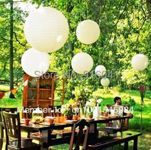 Wholesales 100pcs Free Fedex DIY- 8 inch Chinese Paper Lantern Wedding Birthday Party Celebration Home Decoration Event Festival
