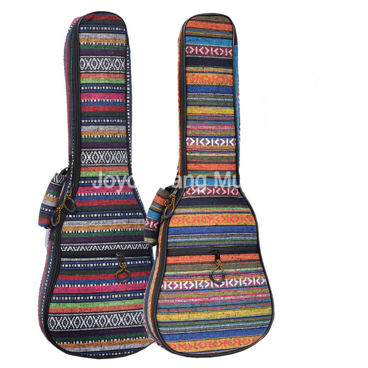 Niko 21 23 26 Ukulele Bag Ethnic Embroidery Fabrics Mini Guitar Soft Case Gig Bag<br><br>Aliexpress
