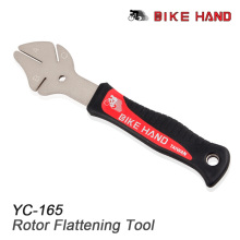 BIKEHAND YC-165 MTB Bike Disc Rotor Flattening Tool Bicycle Brake Disc Adjustor Bike Disk Tray Correction Tool Cycle Repair Tool