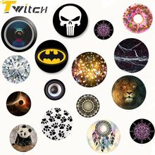 Twitch Music Purple Phone holder Colorful Fashion pop mount Tablet pc MP3 Finger ring phone holder New Arrival(China)